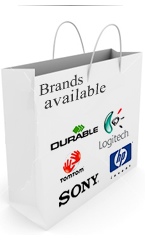 Shop for items by brand name