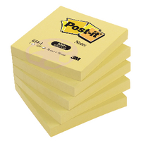 Post-it Yellow Recycled 76x76 Note Pk12
