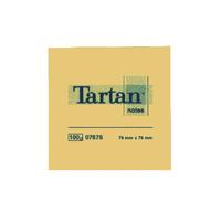 Tartan Repositionable Note 76x76mm Pk12