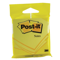 Post-it Yellow 76x76mm Notes 6820YEL