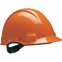 3M Peltor Orange Safety Helmet G3000