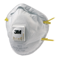 3M Respirator P1 Valved 8812 Pk10
