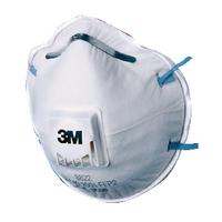 3M Respirator P2 Valved 8822 Pk10