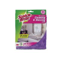 3M Scotch-Brite Dust Cloth Pk2