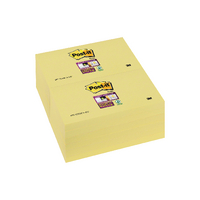 Post-it S/Sticky 76x127 Canary Note Pk12