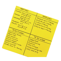 Post-it SS Big Notes 279x279mm Ylw Pk30