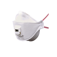 3M Flat Fld Valved Respirator 9332 Plus