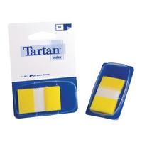 Tartan Yellow Index Tab Dispnser 25x43mm