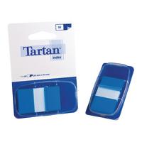 Tartan Blue Index Tab Dispenser 25x43mm