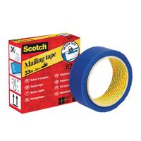 Scotch Secure Mailing Tape 35mm Blue 820