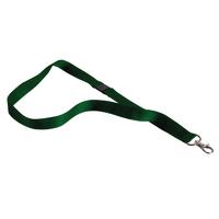 Announce Textile Badge Necklace Grn P10
