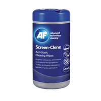 AF Screen-Clene Anti-Static Wipes Pk100
