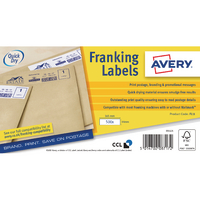 Avery FL11 QuickDRY Frank Labels Pk1000