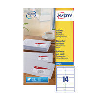 Avery 99.1x38.1 J8163-25 Inkjet Labels