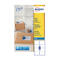 Avery Inkjet Address Labels 8 Sheet P200
