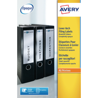 Avery L7171A-20 Lever Arch Spine Labels