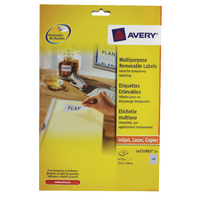 Avery L4731REV-25 Removable Labels Pk25