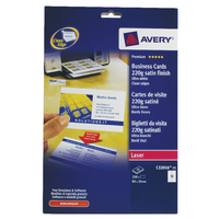 Avery Colour Laser Business Card Pk250
