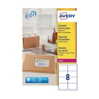 Avery LR7165-100 Rcycld Laser Addr Label