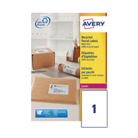 Avery LR7167-100 Laser Shipping Labels