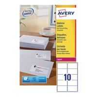 Avery L7173-250 Laser Addr Labels Pk250