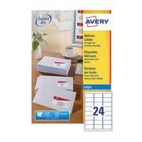 Avery QuickDRY J8159-100 Inkjet Labels