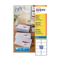 Avery QuickDRY J8173-100 Inkjet Labels