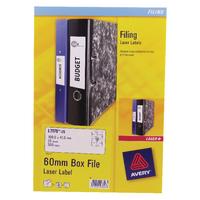 Avery Laser L7176-25 Box File Label Pk25