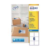 Avery QuickDRY J8166-100 Inkjet Labels