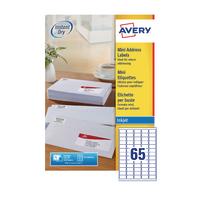Avery Mini Ink Address Labels J8651-100