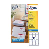 Avery QuickDRY J8160-100 Inkjet Labels