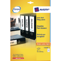 Avery Eurofolio File Label 25Sht L7170