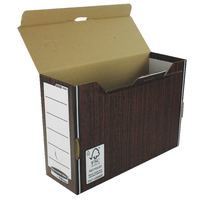 Fellowes Woodgrain Prem Trnsfr File Pk10