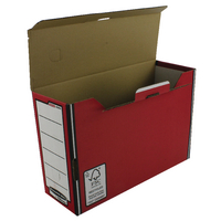 Fellowes Red Premium Transfer File Pk10