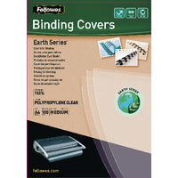 Fellowes Earth A4 Binding Cover Pk100