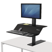 Fellowes Lotus VE Sit-Stand Wkstn Single