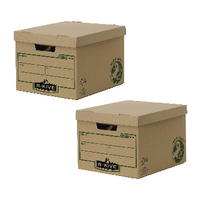 Fellowes Earth Series Storage Box BOGOF