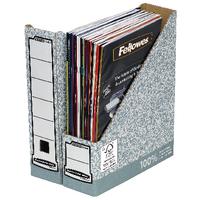 Fellowes Magazine File Grey/White Pk10