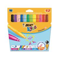 Bic Visa XL Colouring Pens Indiv Pk12