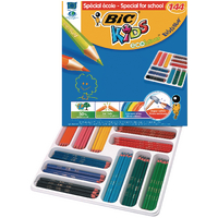 Bic Kids Ecol Hex Pencils Asrtd Pk144