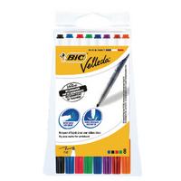 Bic Velleda 1721 Fine W/Brd Marker Pk8