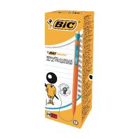 Bic Matic Strong Mech Pencil 0.9mm Pk12