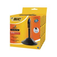 Bic 4 Colour Desk Blue Pen 918515