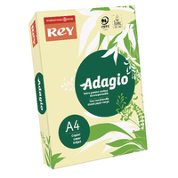 Adagio Pastel Canary A4 160gm Card Pk250