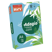 Adagio A4 Bright Blue Card 160gsm Pk250