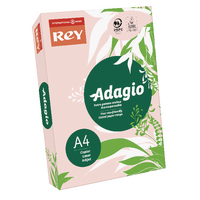 Adagio Pastel Pink Coloured Card Pk250
