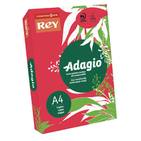 Adagio A4 Red Card 160gsm Pk250