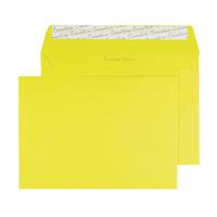 Banana Yellow C5 P/Seal Envelope Pk250