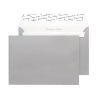 Metallic Silver C5 P/Seal Envelope Pk250