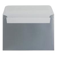 C6 Envelope P Seal Metallic Silver Pk250